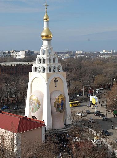 Церковь Святой Великомученицы Татьяны на территории юридической академии.