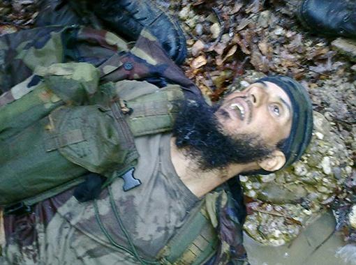 Боевик был уничтожен 21 апреля недалеко от населенного пункта Сержень-Юрт. Фото НАК.