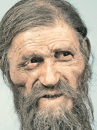 Настоящее лицо «ледяного человека», восстановленное братьями Кеннисами.