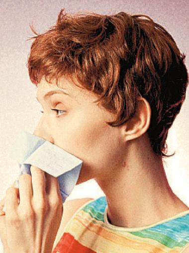 - И как же меня эта аллергия замучила!