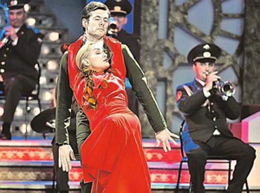 Танго стал самым счастливым танцем Татьяны Булановой и Дмитрия Ляшенко. Фото Марины Волосевич.