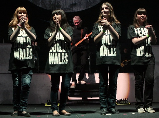 Шоу «TheWalllive». Фото Павла Дацковского.