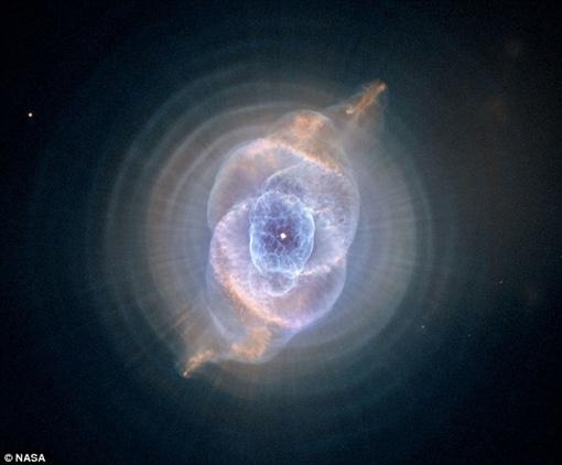 Гибель звезды. Фото NASA.