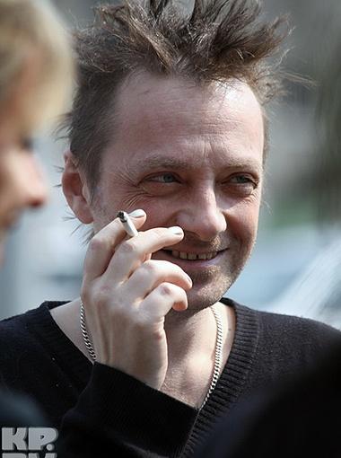 Глеб Самойлов обрадовался дуэту с Анастасией Волочковой. Фото Сергея Гапона.