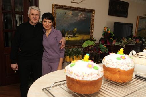 Свою жену Литвин зовет «мама», а она его - «Михалыч».