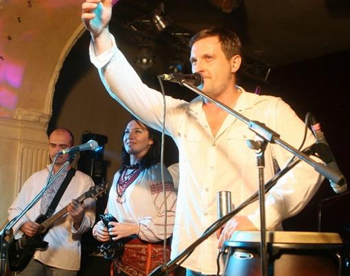 Группа «Вертеп» презентует новый альбом. Фото Павла ДАЦКОВСКОГО