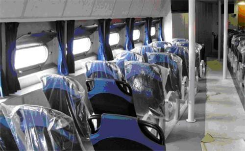 В комфортабельном пассажирском салоне могут разместиться 75-80 человек. Фото пресс-службы ГАО