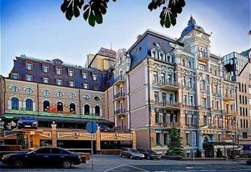 Самый шикарный отель столицы «Opera Hotel». Фото: shakhtar.com.