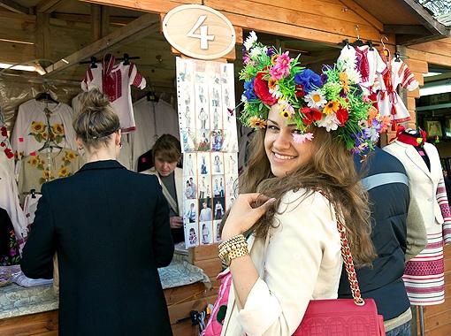 Украинский колорит. На ярмарке можно найти свою «изюминку».