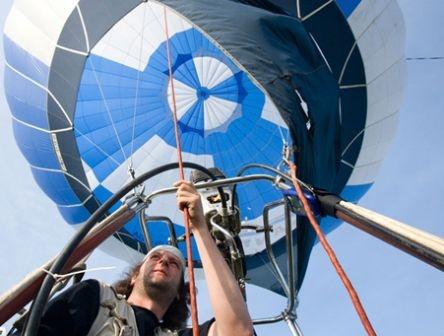 В Енакиево стартовал Фестиваль воздухоплаванья. Фото: www.06242.com.ua.