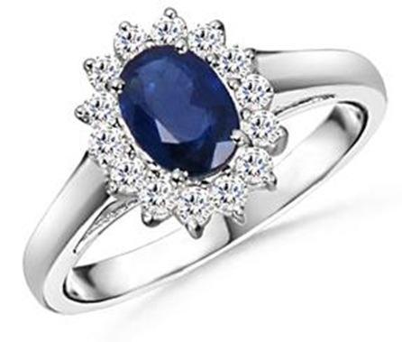 Кольцо принцессы Дианы.