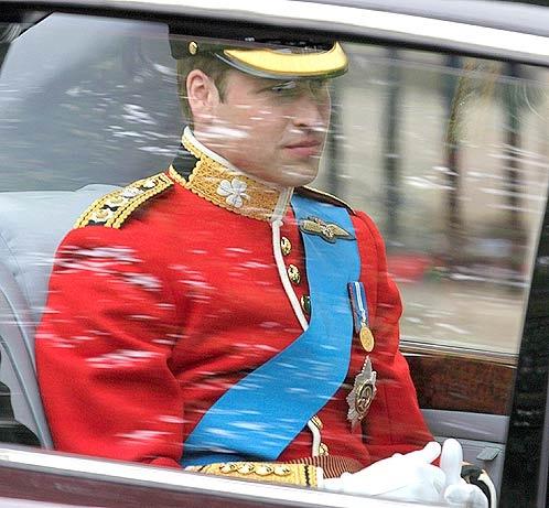 Принц Уильям. Фото АП.