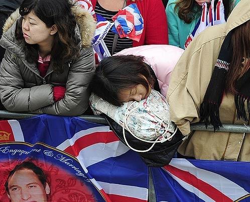 А некоторые уже спят... Фото АП.