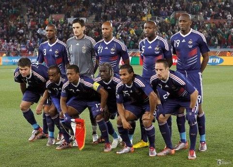 Современная сборная Франции. Фото с сайта kp.ru