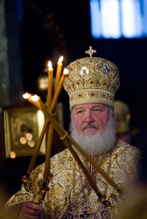 Патриарх проведет в Харькове сутки. Фото Михаила МАРКИВА.