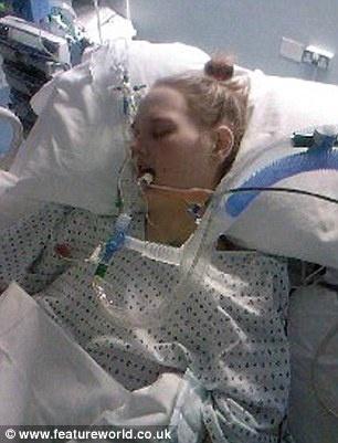 Сейчас Мелисса на грани смерти. Фото с сайта featureworld.co.uk.