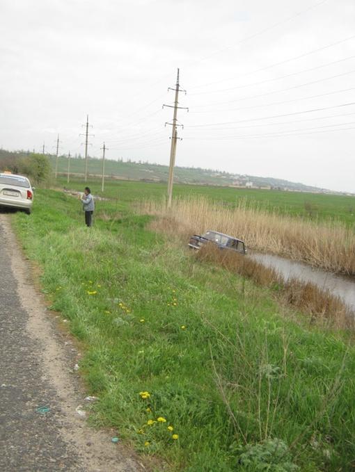 Водитель не справился с управлением. Фото: 0629.