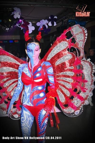 Первое место досталось за образ бабочки. Фото: арт-студия