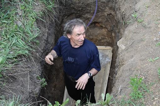 Валерий Лавриненко хотел проверить способности своего организма. Фото: Павел Колесник.