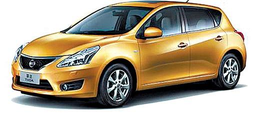 Nissan показал новую Tiida.