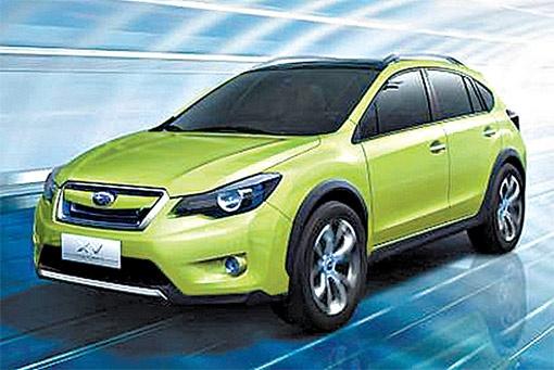 Subaru представила концептуальный кроссовер XV, который в будущем придет на смену модели Impreza.