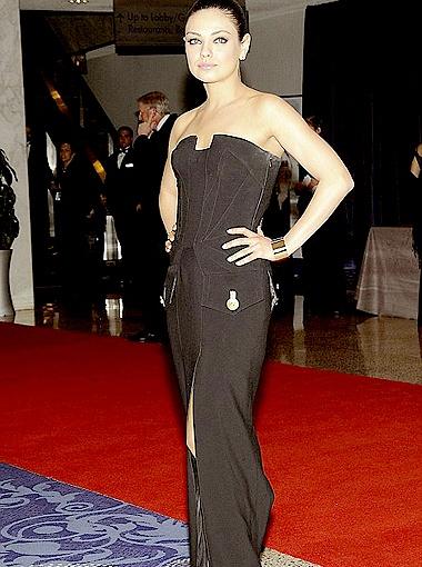 Голливудская звезда с украинскими корнями Мила Кунис - на пятом месте. Фото Daily Mail.