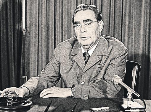 Брежнев активно общался с советским народом с помощью «волшебного ящика». Фото ИТАР - ТАСС.