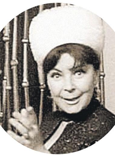 Пани Моника в исполнении Ольги Аросевой была главной звездой «Кабачка».
