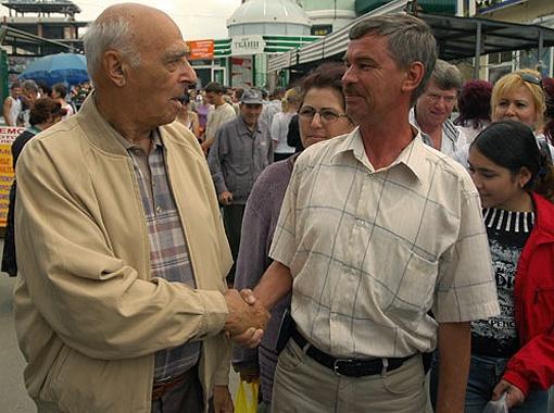 Владимир Этуш не раз бывал в Ростове-на-Дону. Фото из архива редакции.