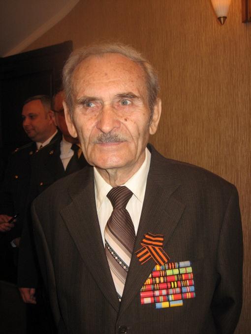Полковник в отставке Семен Иванович Полторацкий. Фото автора.