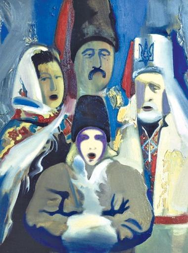 Вдохновение и образы мастер черпает в родном селе под Киевом.
