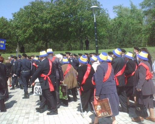 Митинг, посвященный дню Победы. Фото: perepelitca.livejournal.com.