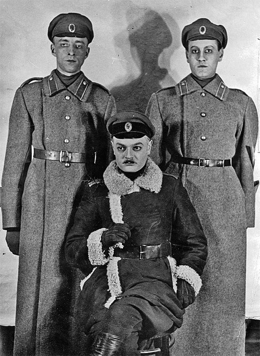 Николай Хмелев в роли Алексея Турбина («Дни Турбиных», МХАТ). Фото из архива семьи Жиляевых.