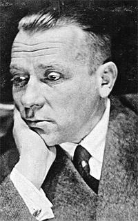Михаил Булгаков на генеральной репетиции «Мольера», февраль 1936 года.