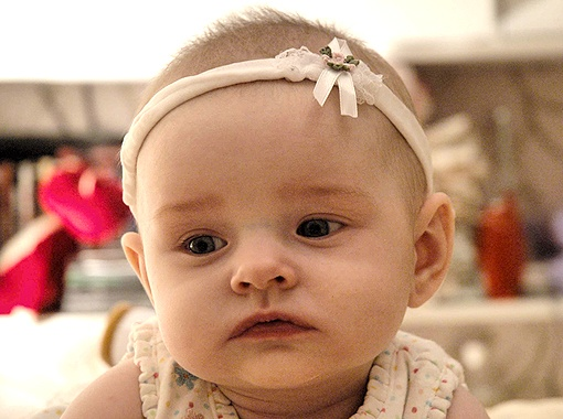 Романюк Варвара Юрьевна, почти 10 месяцев.
