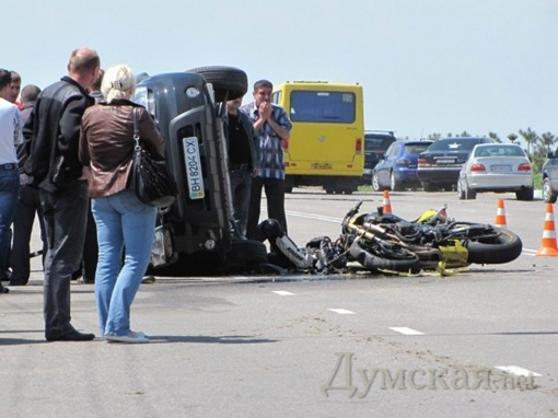 Во вторник в Ильичевске произошло ДТП, оборвавшее две жизни.