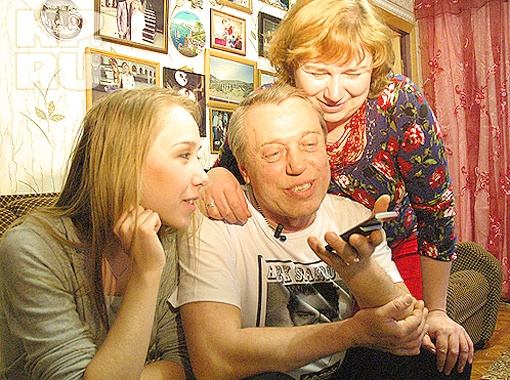 Родители и сестра Алексея Воробьева преживали за него дома в Туле. Фото Алексея Фокина.