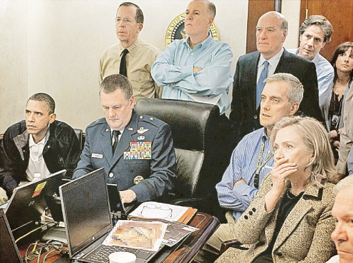 В Белом доме смотрят сцену убийства бен Ладена. Голливуд отдыхает...
