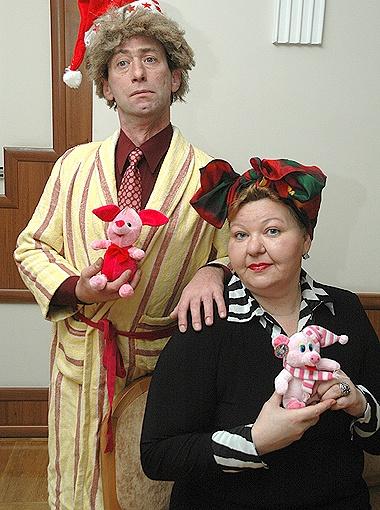 Яша и Сима - колоритная супружеская пара одесситов, глядя на которую смеялись все.