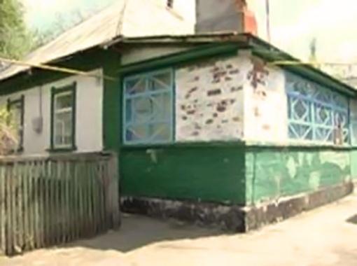 Дом, во дворе которого произошла трагедия.
