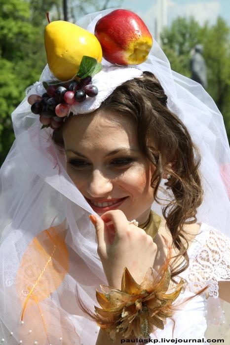 Невеста-лето. Фото: Александра Борушко.