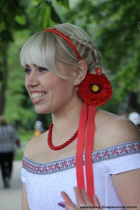 Украинская невеста. Фото: Александра Борушко.