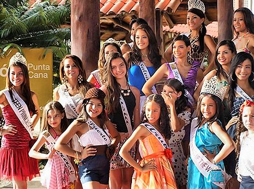 За звание лучшей юной модели боролись 40 девочек из 16 стран мира. Фото предоставлено организаторами фестиваля