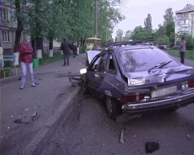 Иномарка задела людей на тротуаре. Фото: magnolia-tv.com