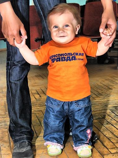 Очаровательная Анюта Балаба – самая маленькая участница чемпионата.