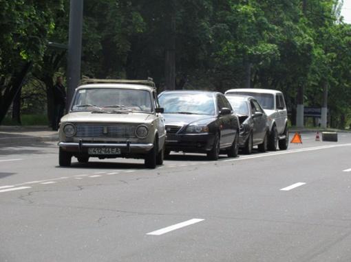 ДТП в центре Мариуполя. Фото: 0629.