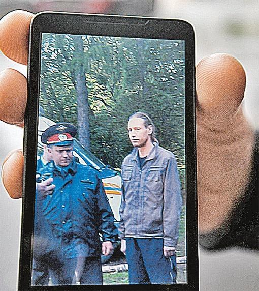 Арест Шадрина соседи сняли на мобильники.