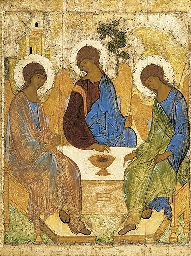«Троица» - икона, написанная Андреем Рублевым в XV веке, самое знаменитое из его произведений.