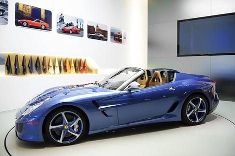 Компания Ferrari представила уникальный суперкар. Фото Ferrari.
