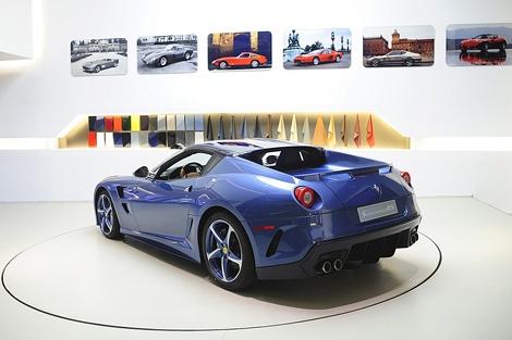 Автомобиль получил название Superamerica 45. Фото Ferrari.